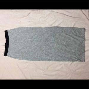 Dresses & Skirts - Gray Bodycon Maxi Skirt